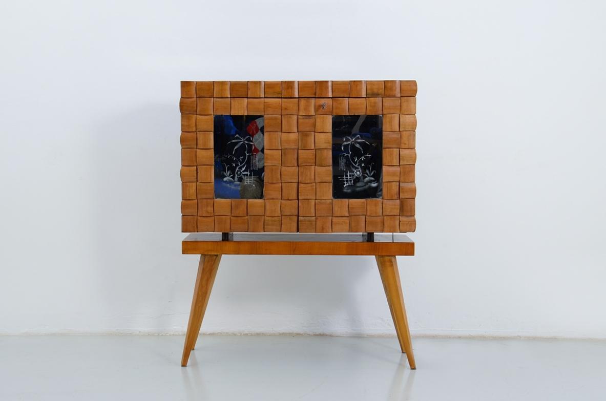 Vintage Bar Cabinet Furniture Milan