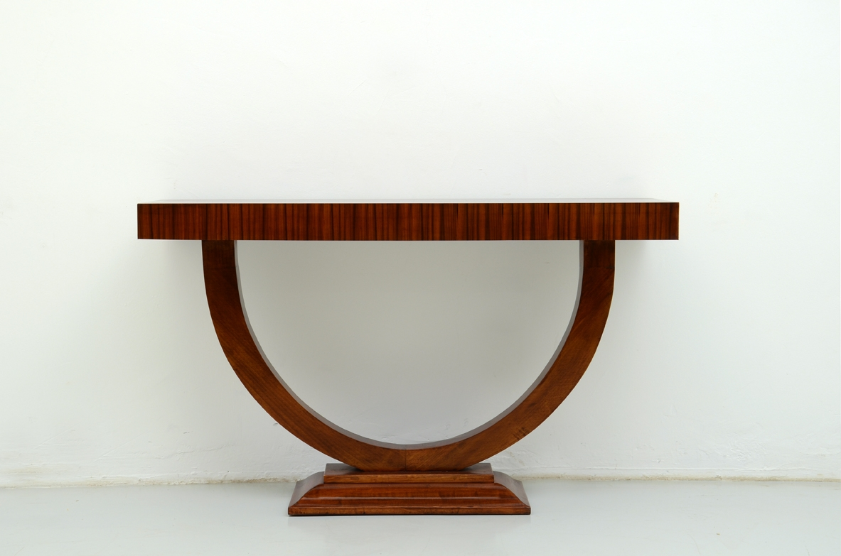 Console in palissandro anni 1930