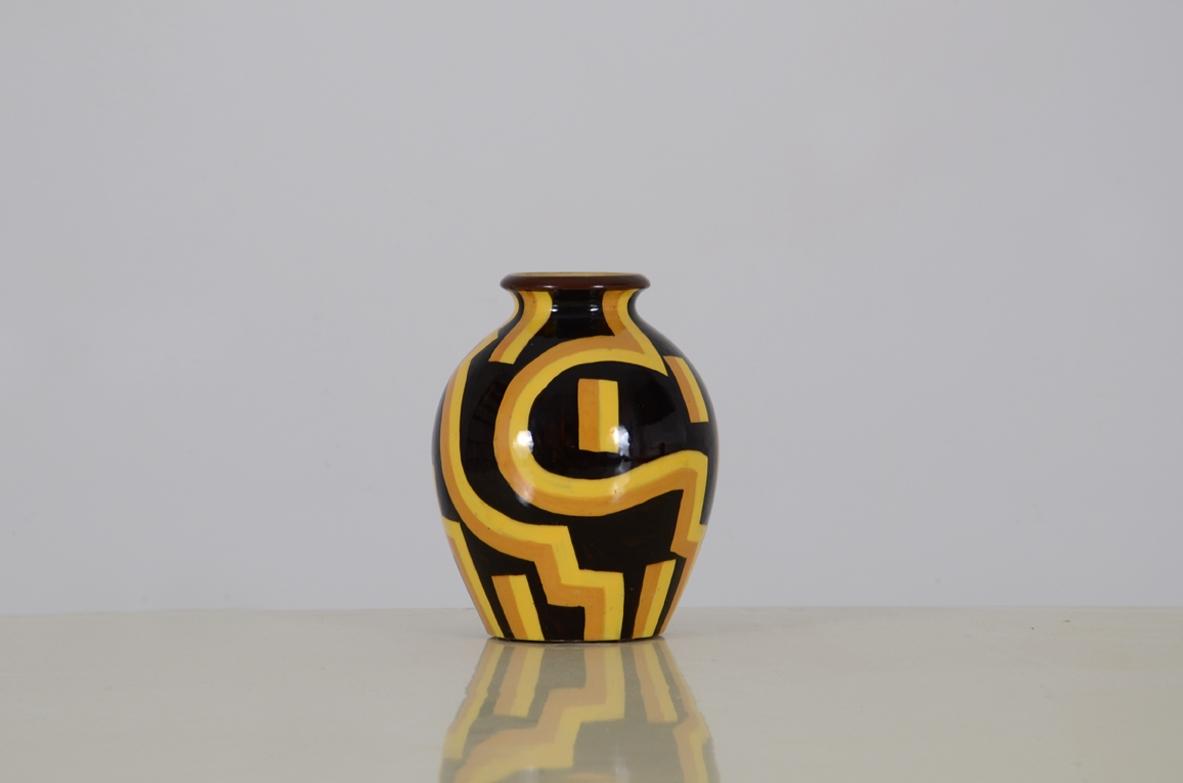 Vase spica albisola ceramics antiques dimanoinmano