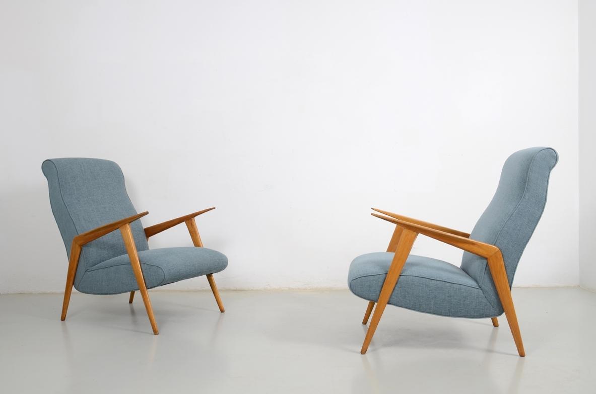 Poltrone Svedesi Anni 60.Vintage Design Modernariato Art Deco Design Del 900